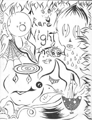 A Rare Night Indeed: A Spooky, Spirited, Fright Night Halloween Coloring Book  by  Alysa Lynn Peters