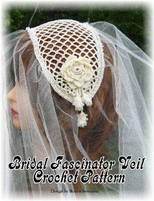 Bridal Fascinator Veil Crochet Pattern Sharon Santorum