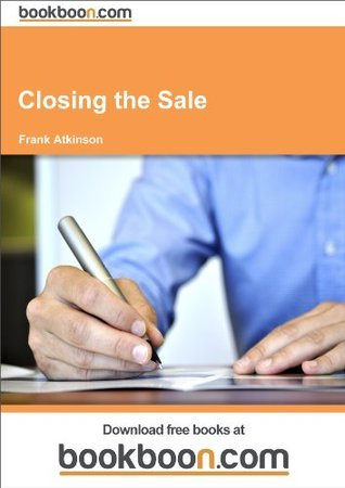 Closing the Sale Frank Atkinson