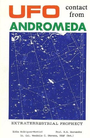 UFO Contact from Andromeda  by  Zitha Rodriguez Montiel