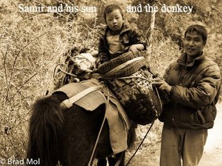 Samir and his son and the donkey Noureddine Maaroufi