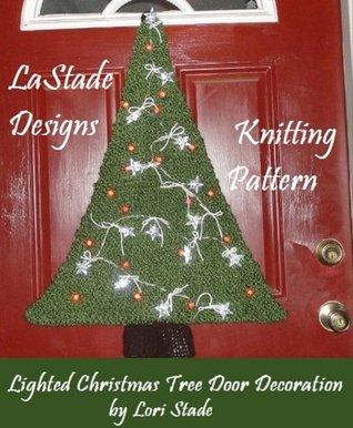 Christmas Tree Door Decoration Knitting Pattern  by  Lori Stade