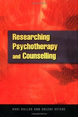 Researching Psychotherapy And Counselling Rudi Dallos