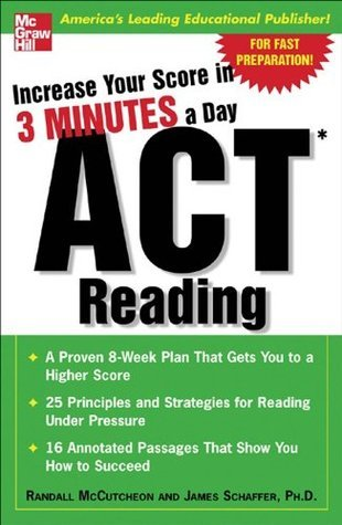 Increase Your Score In 3 Minutes A Day: ACT Reading  by  Randall McCutcheon