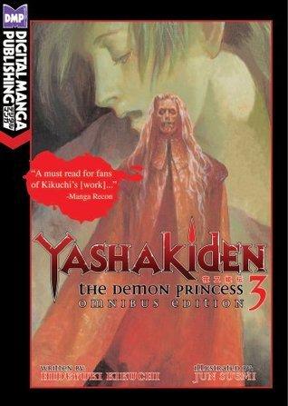 Yashakiden: The Demon Princess Vol. 3 Omnibus Edition Hideyuki Kikuchi