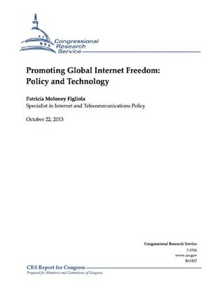 Promoting Global Internet Freedom: Policy and Technology  by  Patricia Moloney Figliola