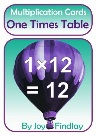 One Times Table - Multiplication Cards (Multiplication Cards Series)  by  Joy Findlay