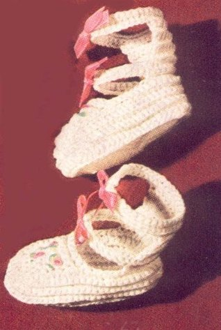 Double Strap Baby Booties Shoes Slippers Crochet Pattern The Crochet Kid