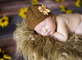 Copious Cables Beanie Knitting Pattern - All Sizes Newborn through Adult Man Included Melody Rogers