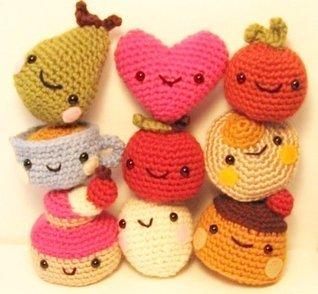Cute Tiny Amigurumi Crochet Pattern  by  Ana Paula Rimoli
