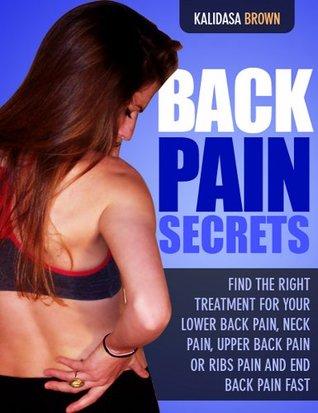 Back Pain Secrets Kalidasa Brown