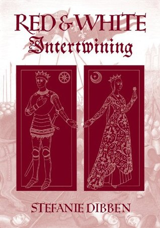 RED & WHITE Intertwining  by  Stefanie Dibben