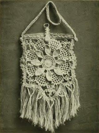 VENETIAN BAG Vintage Crochet Pattern  by  Unknown