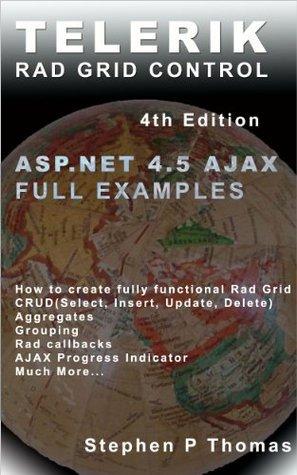 Telerik Rad Grid Control for ASP.NET AJAX Full Example by Stephen Thomas