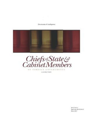 Chiefs of State and Cabinet Members  Directory March 2013 Central Intelligence Agency (C.I.A.)