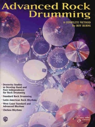 Advanced Rock Drumming  by  Roy Burns