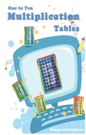 One to Ten Multiplication Tables eBook  by  Energy and Sciences