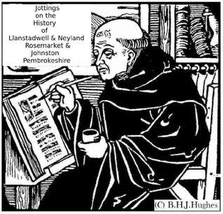 Jottings on the History of Llanstadwell & Neyland Rosemarket & Johnston Pembrokeshire  by  Basil H.J. Hughes