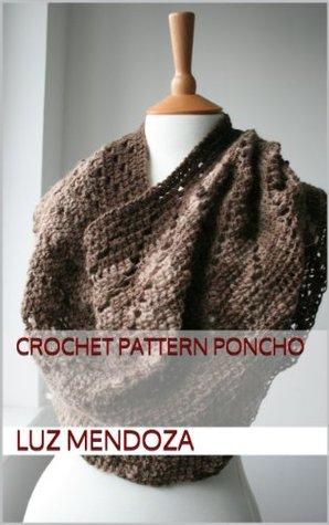 Crochet pattern poncho  by  Luz Mendoza