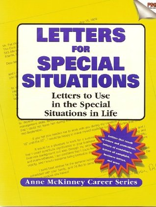 Letters for Special Situations (Real-Resumes Series) Anne McKinney