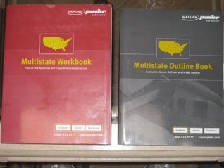 2010 Kaplan PMBR Multistate Outline Book and Multistate Workbook Kaplan Pmbr