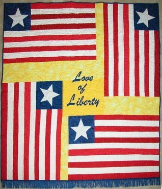 Love of Liberty: The Liberian Flag Story and Quilt Pattern  by  Kyra E. Hicks