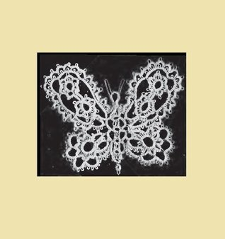 Butterfly Medallion. Vintage Corticelli Tatting Pattern [Annotated]  by  Unknown