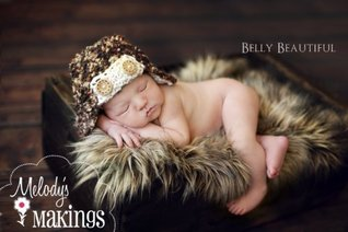 Baby Bush Pilot Hat Knitting Pattern - All Sizes From Newborn to Adult Man Included Melody Rogers