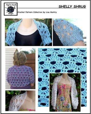 Shelly Shrug - Crochet Pattern #154 for Shrug / Bolero  by  Lisa Gentry