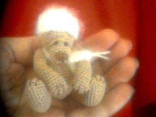 FIORINO Miniature Thread Crochet Bear Pattern Edith Molina by Edith Molina