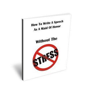 How to Write a Speech as  a Maid of Honor Jacob Fairclough