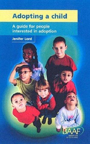 Adopting A Child Jenifer Lord