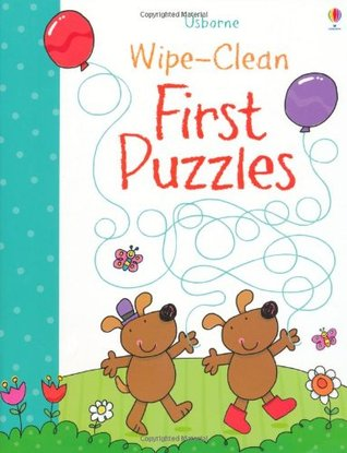 Wipe-Clean First Puzzles Jessica Greenwell