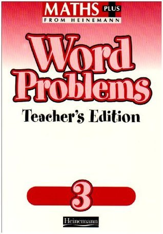 Maths Plus: Word Problems 3   Teachers Book L.J. Frobisher