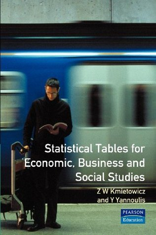Statistical Tables For Economic, Business And Social Studies Z.W. Kmietowicz