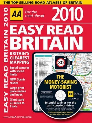 AA Easy Read Atlas Britain 2010 A.A. Publishing