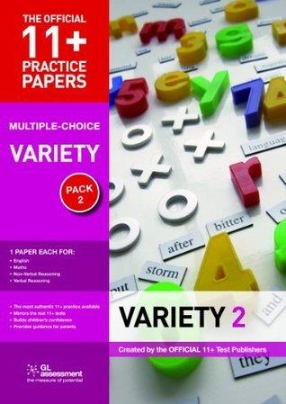 Multiple-Choice Variety Pack 2: Contains 4 Tests - Maths 11b, Eng 11b, VR 11b, Nvr 11b G.L. Assessment