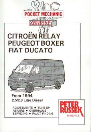 Citroen Relay Diesel Model, to 2001, 2.8 Hdi Turbodiesel Peter Russek