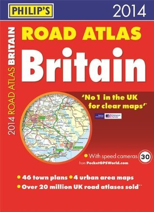 Philips Road Atlas Britain 2014: Paperback A3 Philips