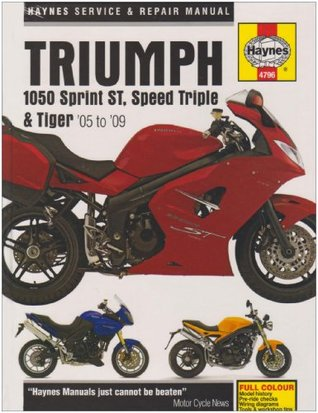 Triumph 1050 Sprint St, Speed Triple, & Tiger Service and Repair Manual: Models Covered, Sprint St 1050cc. 2005-On, Speed Triple 1050cc 2005-On, Tiger 1050cc 2007-On, ABS and Special Edition Versions Included. Matthew Coombs by Matthew Coombs