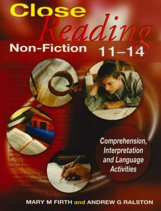 Close Reading Non Fiction  by  Mary M. Firth
