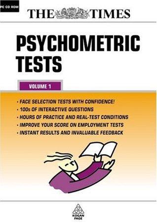 Psychometric Tests VOL 1 CD-ROM: Volume 1 CD-ROM: v. 1 (The Times testing series) Mike Bryon