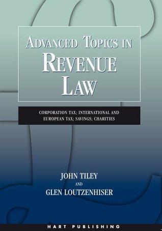 Revenue law John Tiley