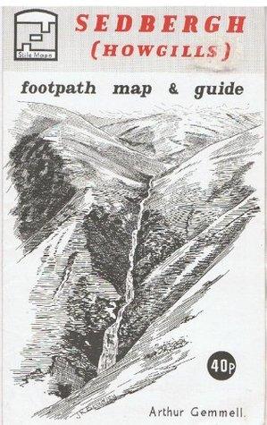 Sedbergh (Howgills) Footpath Map  by  Arthur Gemmell