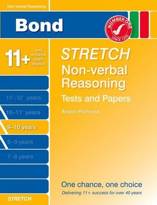 Bond Stretch Non-Verbal Reasoning Tests and Papers 9-10 Years Frances Down