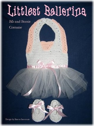 Littlest Ballerina Bib and Bootie Set Crochet Pattern Sharon Santorum
