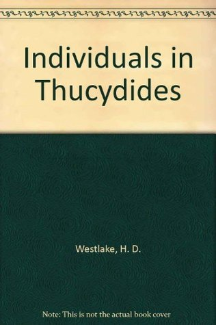 Individuals in Thucydides H. D. Westlake