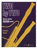 Two  by  Two Bassoon Duets by Graham Sheen