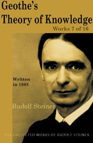Geothes Theroy of Knowledge: Works 7 of 16  by  Rudolf Steiner