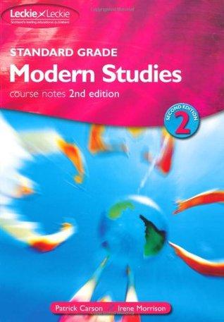 Standard Grade Modern Studies Course Notes Patrick Carson